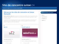 site de rencontre suisse